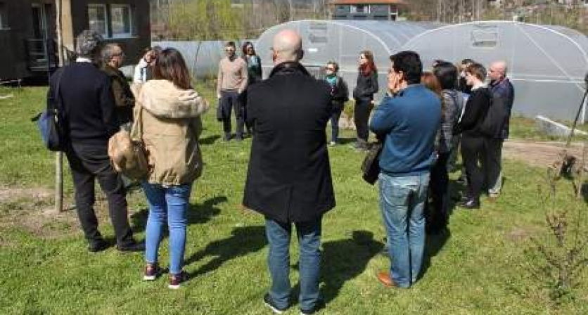 Parceiros de projeto europeu visitaram a Utopia, na Póvoa de Lanhoso