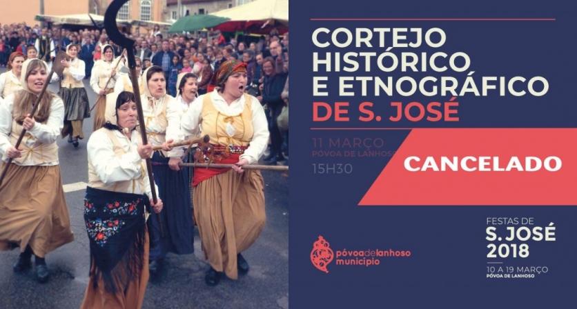 Cortejo Histórico e Etnográfico de São José realiza-se em 2019