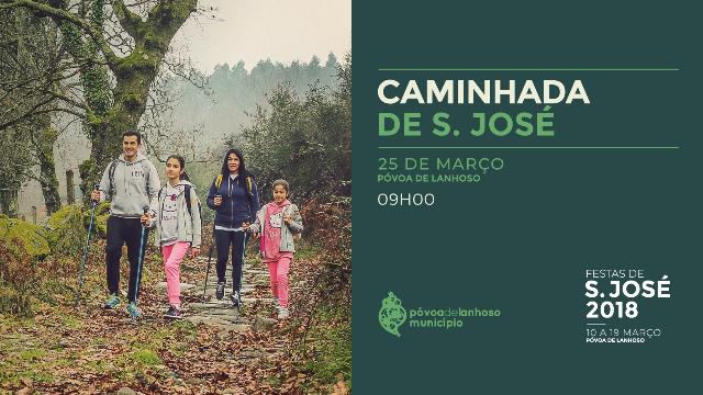 Caminhada de S. José no próximo domingo, dia 25 de março