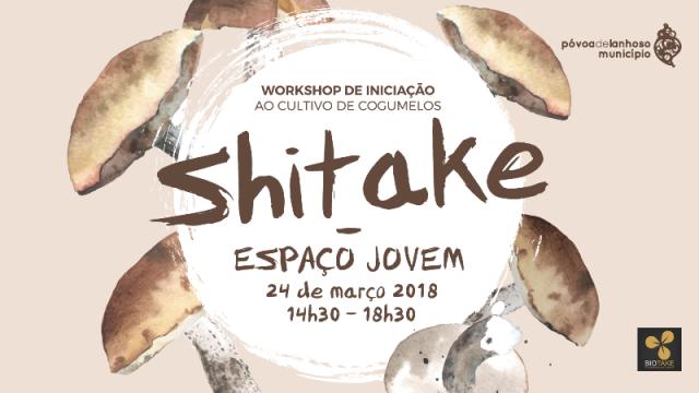 Workshop de Iniciação ao Cultivo de Cogumelos no Espaço Jovem