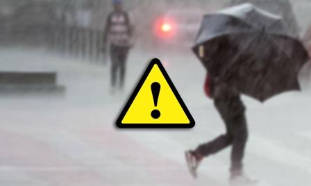 IPMA coloca distrito de Braga sob aviso laranja para a chuva