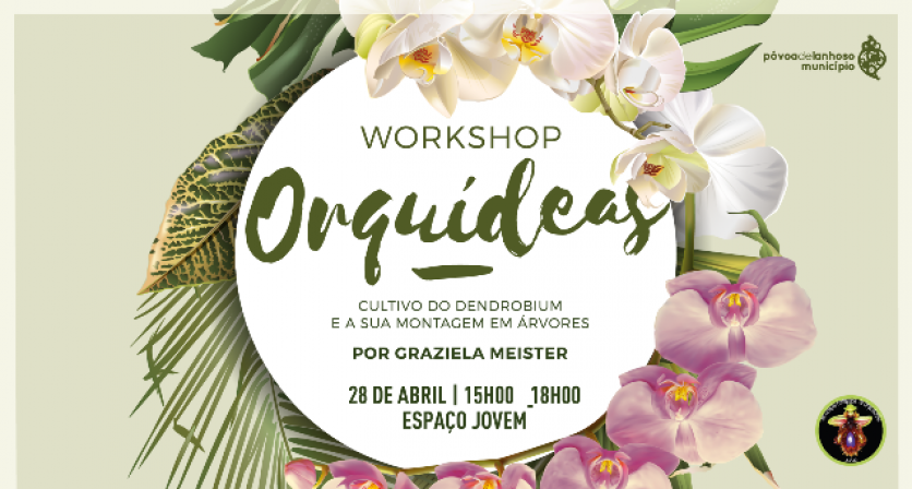 workshop sobre o cultivo de orquídeas