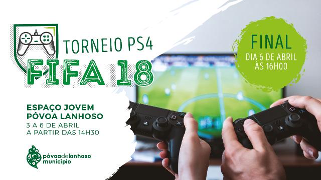Espaço Jovem promove Torneio de PS4 FIFA 2018