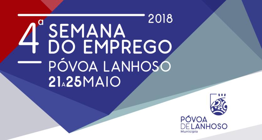 Póvoa de Lanhoso promove a IV Semana do Emprego de 21 a 25 de maio