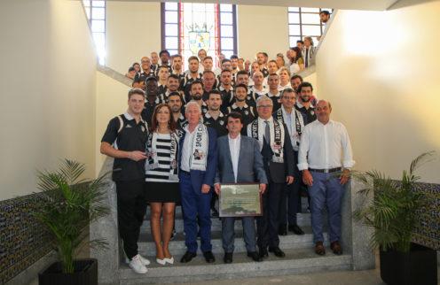 Câmara Municipal homenageou o SC Maria da Fonte