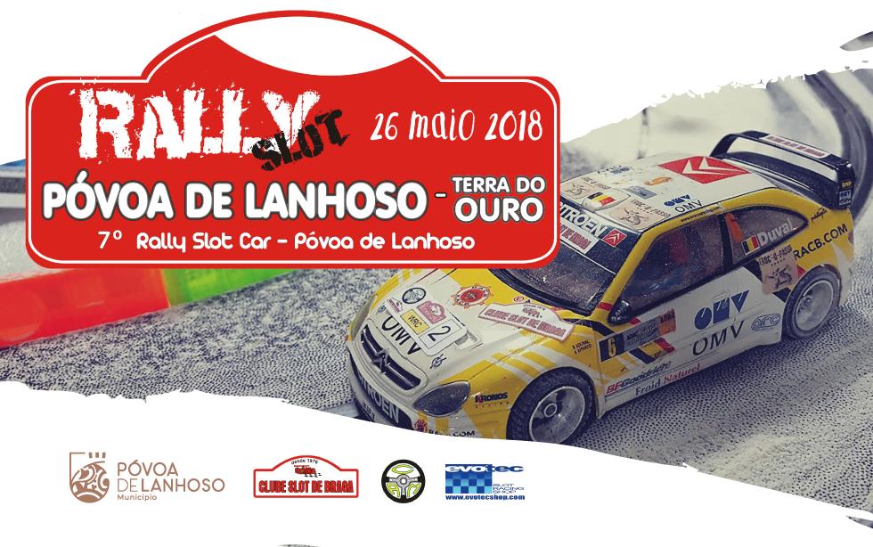 Rally Slot Póvoa de Lanhoso – Terra do Ouro