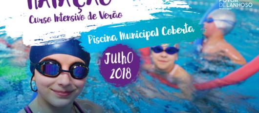 Natação: Câmara Municipal promove Curso Intensivo de Verão