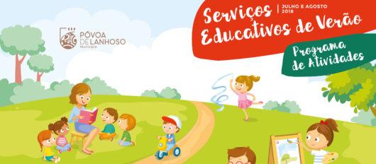 Programa de atividades para crianças dos 3 aos 14 anos