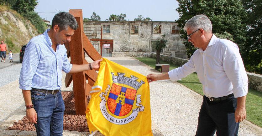 Requalificação do Largo de Cimo de Vila inaugurada no passado sábado