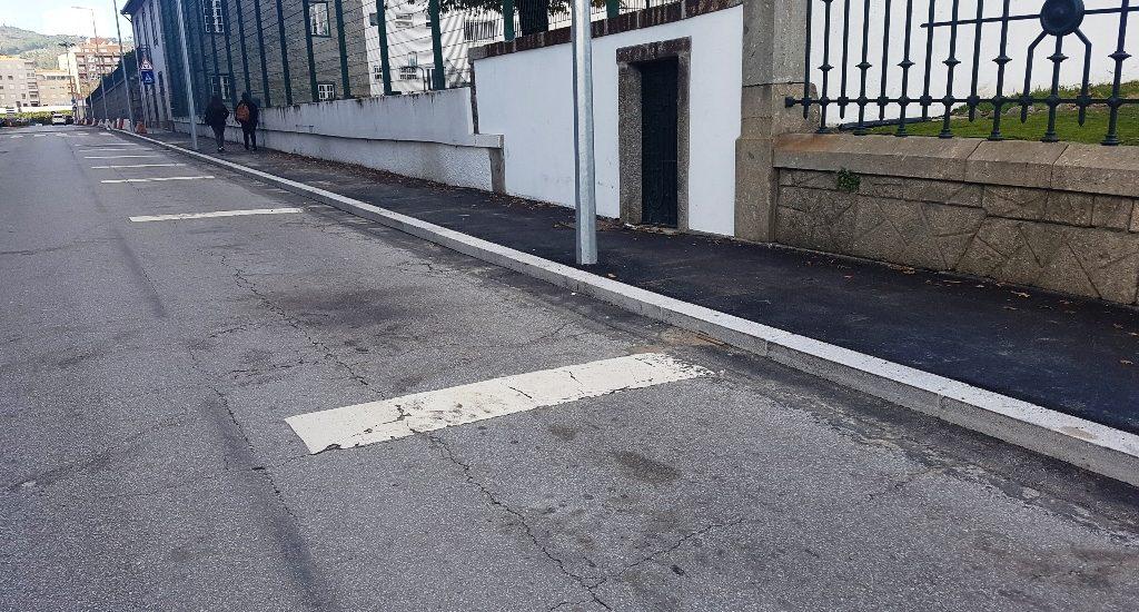 Requalificação da rede de passeios avança na Vila da Póvoa de Lanhoso
