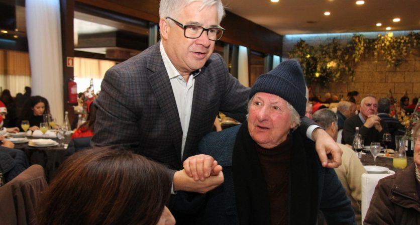 Câmara Municipal proporcionou Almoço de Natal a 500 seniores