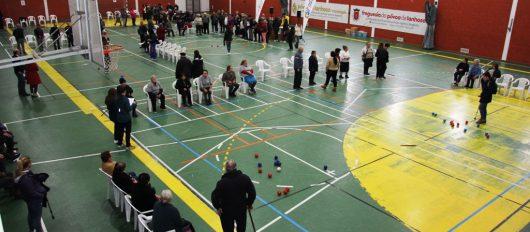 Seniores animados e competitivos em Torneio de Boccia