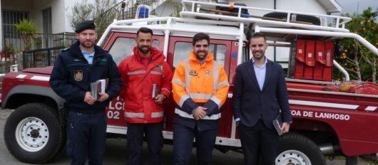 Entidades locais sensibilizam e informam a respeito de prevenção de incêndios florestais