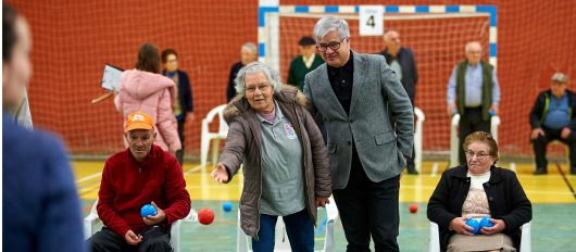 Seniores animados e competitivos no VIII Campeonato Boccia Sénior
