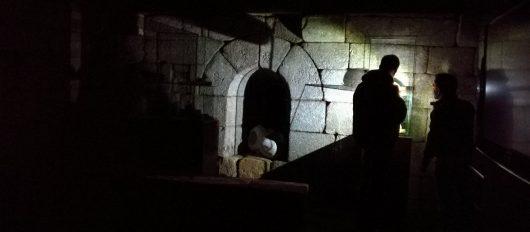 Realizou-se aVisita Guiada Noturna ao Castelo de Lanhoso