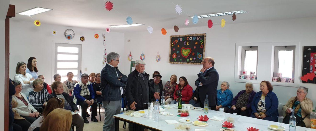 Visitas de Páscoa aos Centros de Convívio