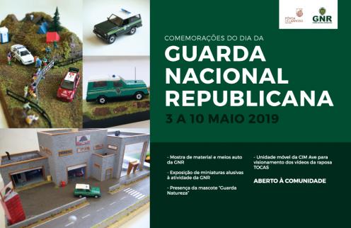 Comemoração do dia da Guarda Nacional Republicana – 3 a 10 de Maio