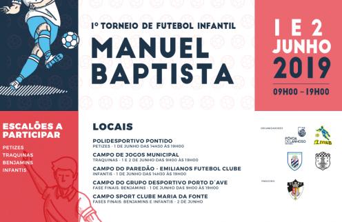1º Torneio de Futebol Infantil Manuel Baptista