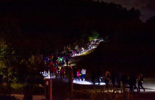 Caminhada Noturna na Póvoa de Lanhoso juntou mais de 400 participantes