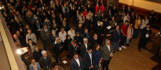 Mais de 300 pessoas dos centros de convívio e IPSS's do Concelho participaram na Missa Sénior