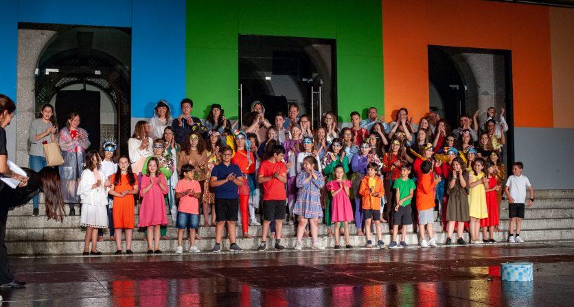 Oficinas de teatro apresentaram espetáculo nos Paços do Concelho