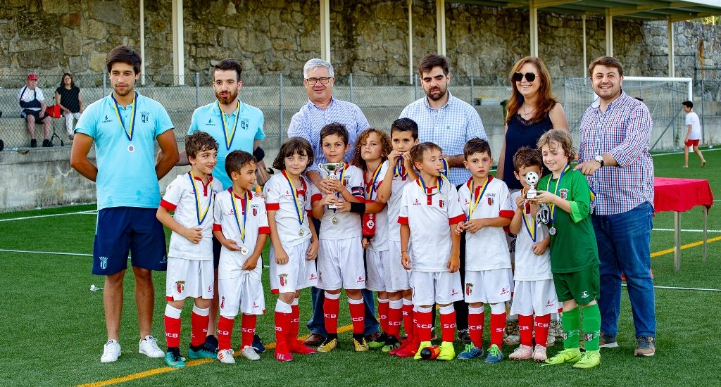 Torneio de Futebol Infantil Manuel Baptista homenageou as crianças