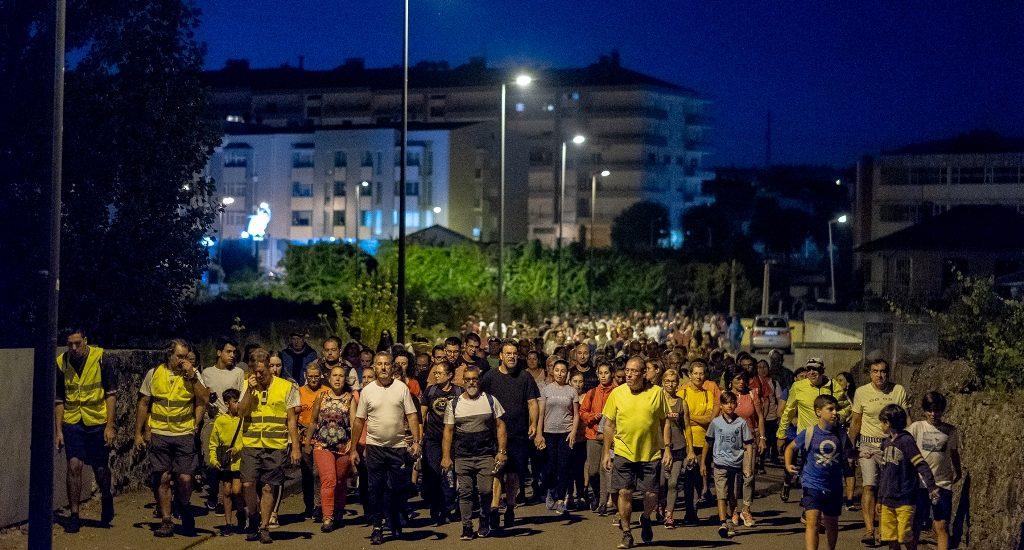 Caminhada Noturna reuniu na Póvoa de Lanhoso participantes de oito concelhos