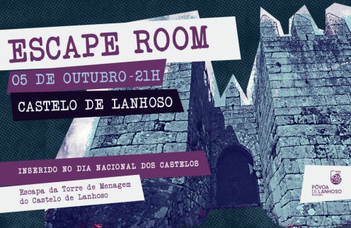 ESCAPE ROOM no Castelo de Lanhoso