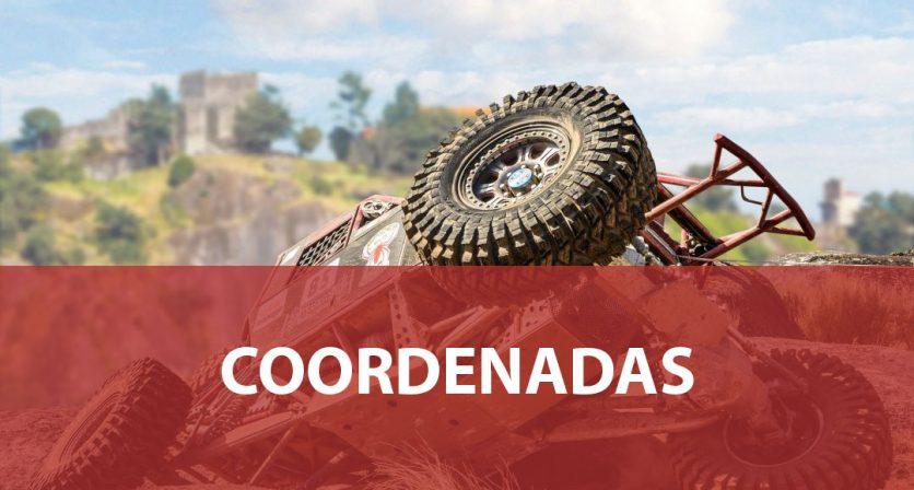 Coordenadas - NorteX4 Challenge Póvoa de Lanhoso 2019