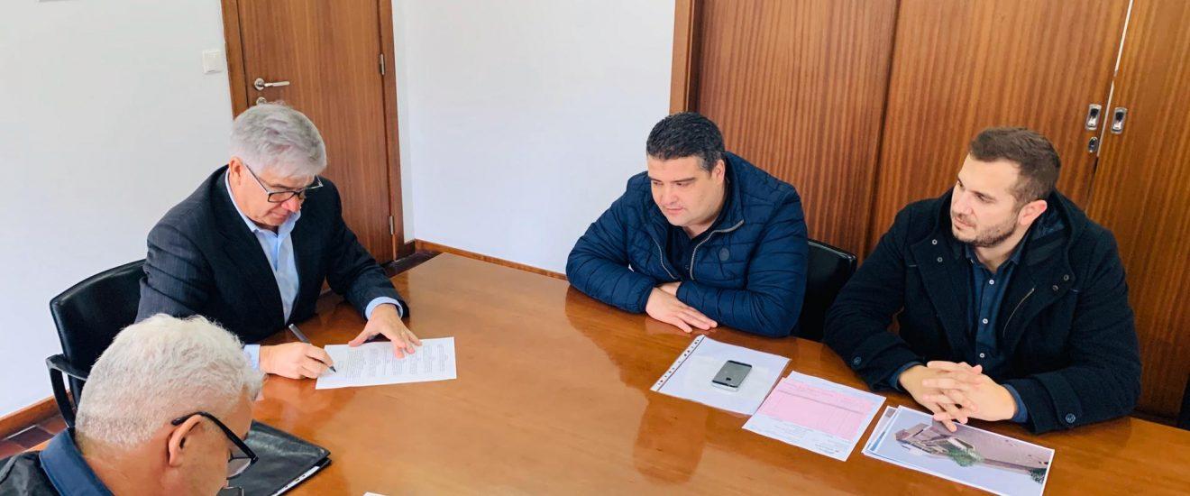 Câmara Municipal promove alargamento da Rua Nossa Senhora de Fátima em Santo Emilião