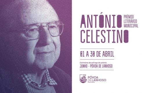 Prémio Literário Municipal António Celestino 2020