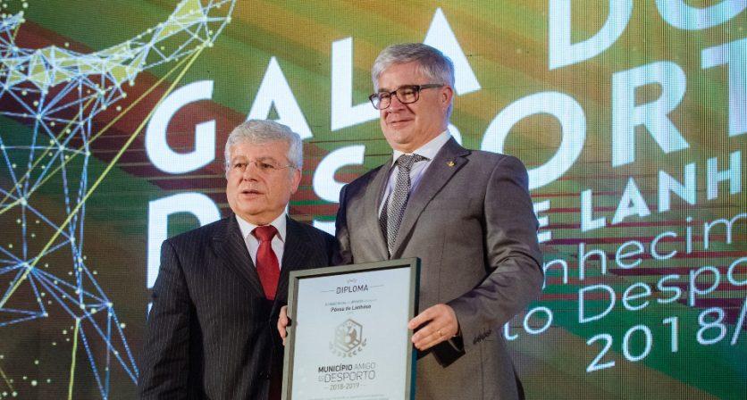 Póvoa de Lanhoso renovou o galardão de Município Amigo do Desporto