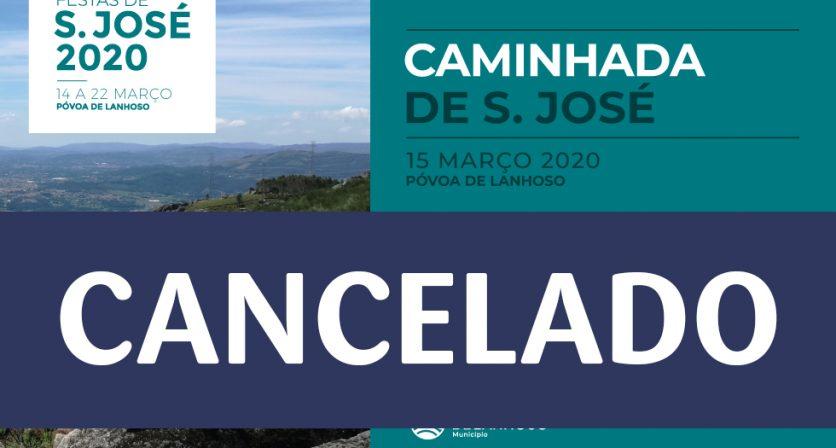 Caminhada de S. José 2020 - CANCELADO