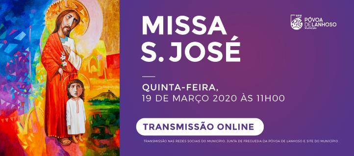 Missa Solene S. José - Transmissão ONLINE