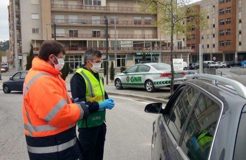 COVID-19: Automobilistas fiscalizados na Póvoa de Lanhoso