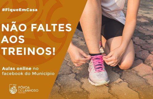 Exercita-te! Aulas Online no Facebook