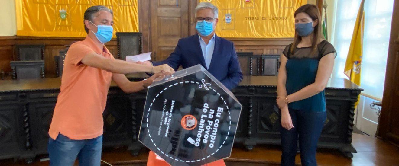 """Câmara Municipal da Póvoa de Lanhoso já sorteou prémios da iniciativa """"Juntos pelo comércio local"""""""