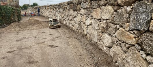 Câmara Municipal da Póvoa de Lanhoso requalifica Rua de Longaínho, em Geraz do Minho