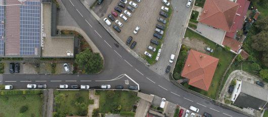 Câmara Municipal da Póvoa de Lanhoso requalificou rua de acesso ao Parque Industrial, em Campo