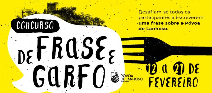 """Concurso """"De Frase e Garfo"""" 1"""