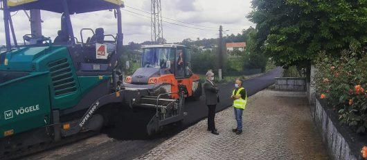 Câmara Municipal da Póvoa de Lanhoso requalifica Rua de São Cosme e São Damião, em Garfe