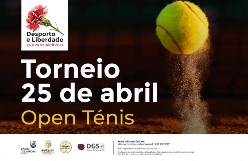 Torneio 25 de Abril – Open Ténis