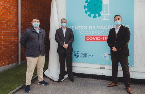 Mais de metade da população da Póvoa de Lanhoso já tomou uma dose da vacina contra a COVID-19
