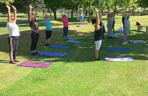Pontido Fitness incentiva a população a adotar estilos de vida saudáveis