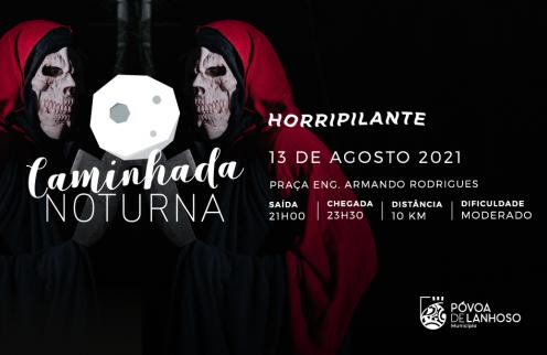 Caminhada Noturna Horripilante, Sexta-feira 13