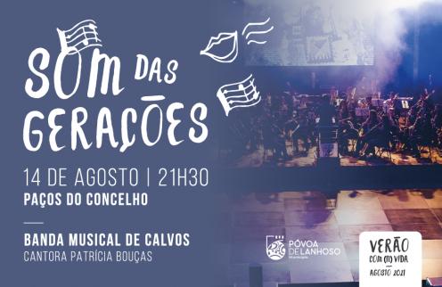 Banda Musical de Calvos – Som das Gerações